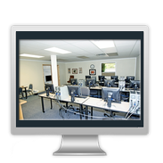 Action Computer Training Center Classroom Equipment - click here for large view
